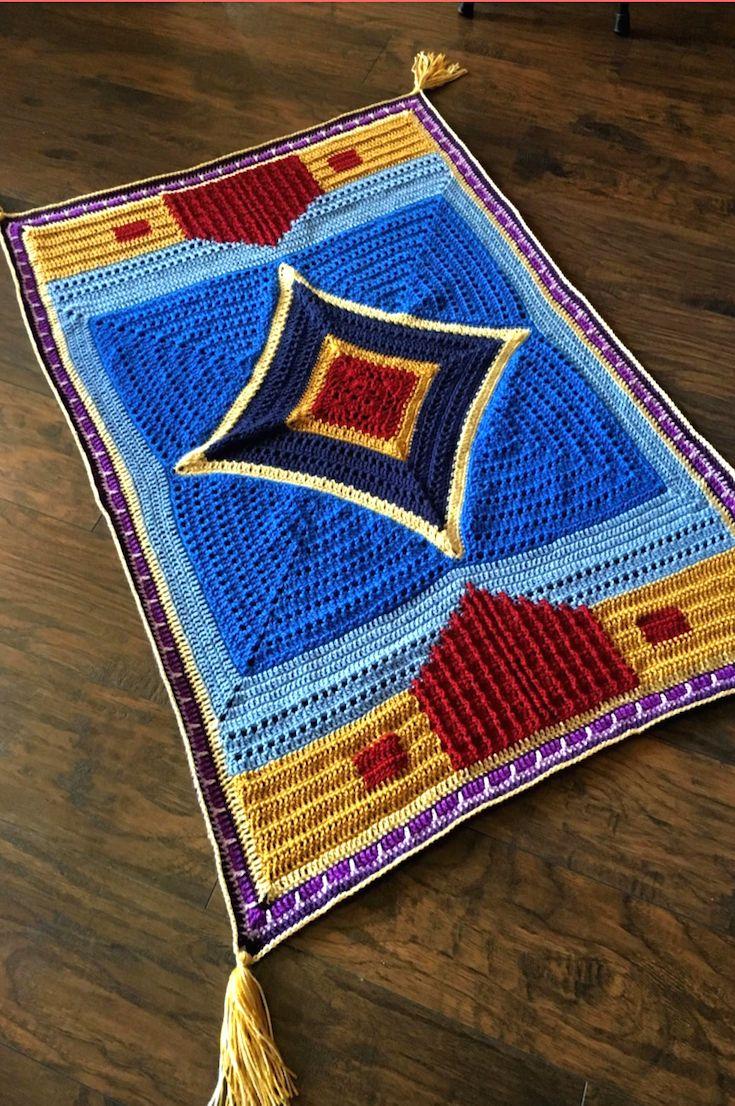 Magic Flying Carpet Crochet Pattern