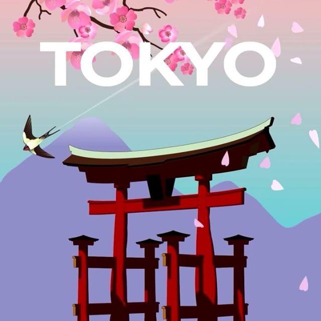 """""""Yükselen Güneş Ülkesi''nin başkenti Tokyo, Uzak Doğu'nun en önemli şehirlerinden biridir. #Maximiles #Tokyo #Japonya #ArtDeco #vintage #poster #travel #city #postcard #holiday #vacation #seyahat #tatil #şehir #kartpostal #gezi #nature #sun #güneş #ÖzgürceUç #DünyaSizin #OnuİyiKullanın #ŞehirPosterleri #instagood #picoftheday #instacity"""