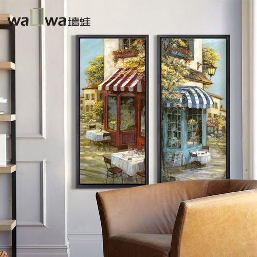 Frog Cafe scene large poster wall mural painting frame painting decorative painting the living room restaurant //Price: $US $298.00 & Up to 18% Cashback on Orders. //     #jewelry
