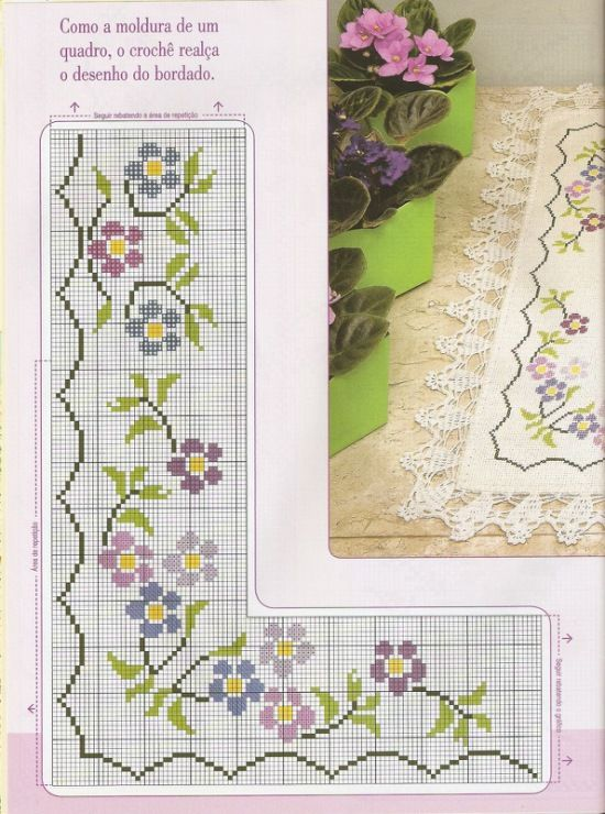 Corner Cross Stitch