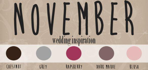 Rustic November wedding inspiration