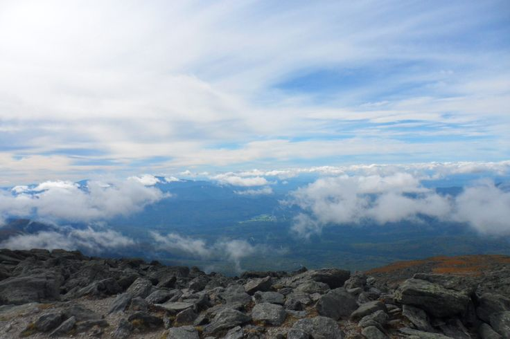 Mt Washington at the top in September 2013