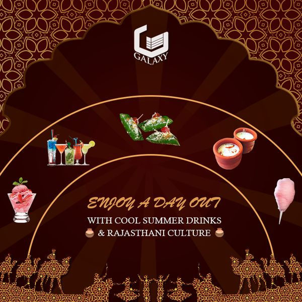 An astonishing event based on the Rajasthani theme and indulged with different eatery points. #TheGalaxyGroup #FantasticCommercial #LuxuriousResidential #SummerFiesta #Event #RajasthaniTheme