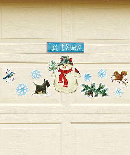 Seasonal Garage Door Magnets