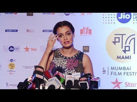 Dia Mirza at MAMI 18th Mumbai Film Festival 2016.
