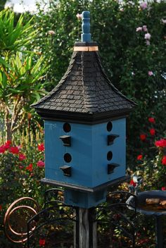 Bird House and Bird Feeder