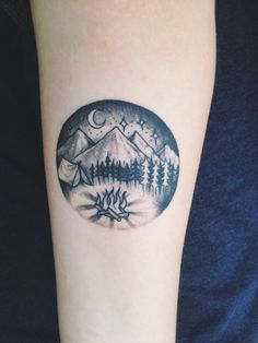 ideas about Outdoor Tattoo on Pinterest | Camping Tattoo Tattoos ...