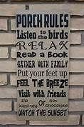 porch signs - Bing Images