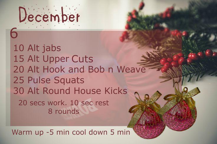 December Fitness Challenge - Day 6