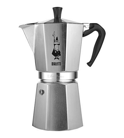 Bialetti - italian stove top coffee maker  (Bron - 6 cup size)