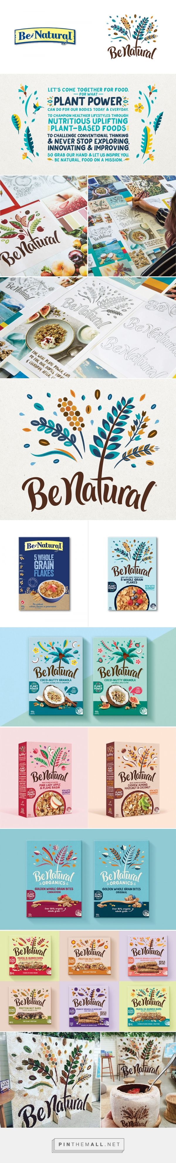 Brand New: New Logo and Packaging for Be Natural by Loop Brands - created on 2017-02-13 16:45:36