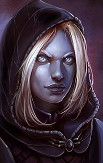 Pillars of Eternity Character Portrait for my Rogue Pale Elf