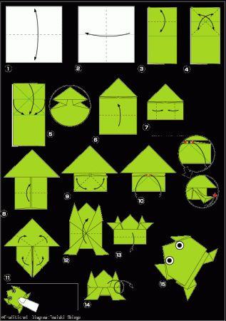Оригами для детей из бумаги: простые схемы для работы