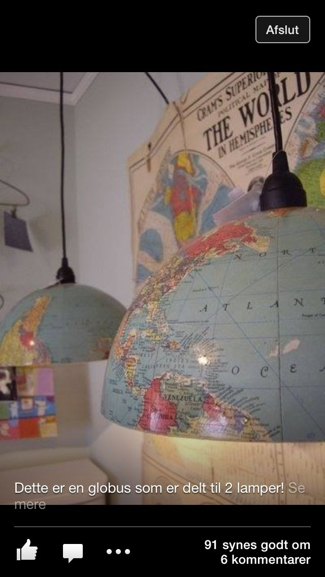 Globe lamper