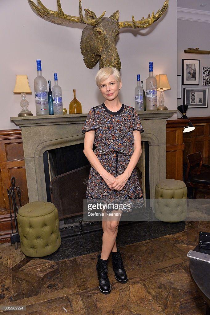 Schauspielerin Michelle Williams auf der TIFF-Party von Manchester By The Sea, moderiert von GREY…
