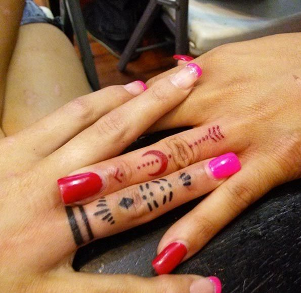 25 best ideas about cute sister tattoos on pinterest for Tattoos for sisters of 3