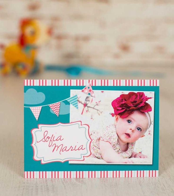 Invitatie botez - Happy Baby Girl