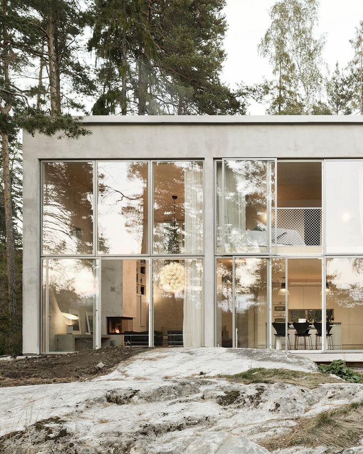 Dit is ons droomhuis en het bestaat helemaal uit beton - Roomed   roomed.nl