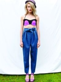 R/H SS13 Collection - Knot Trousers in Demin