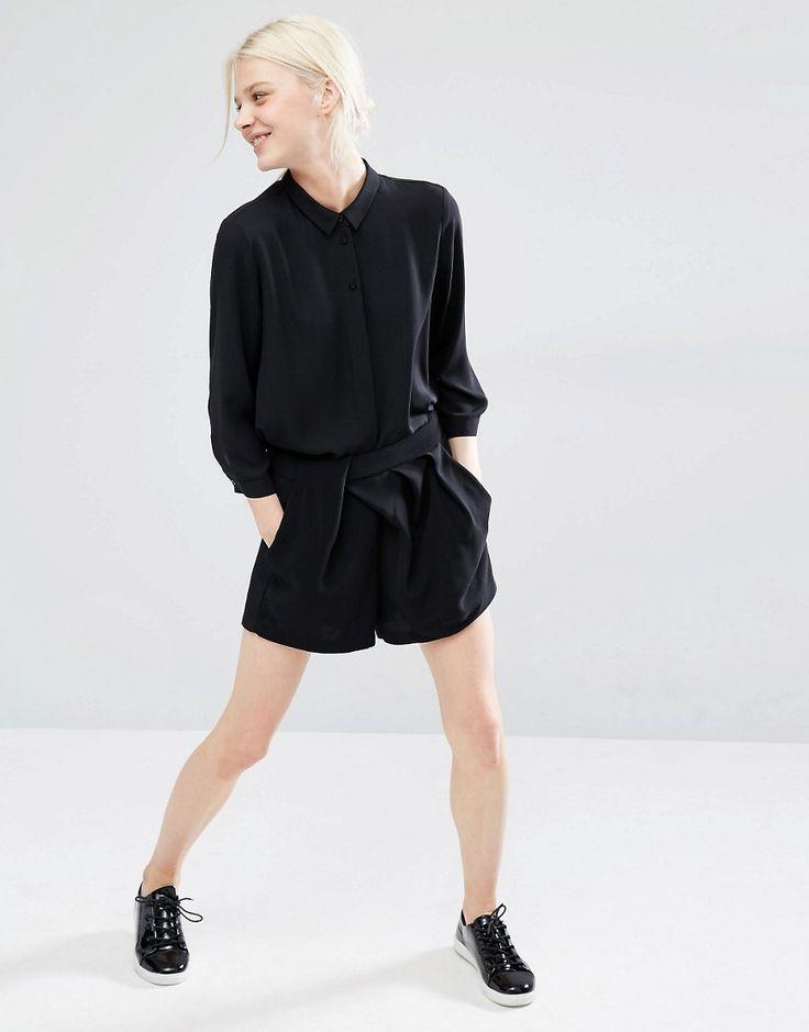 Image 1 - Monki - Short plissé