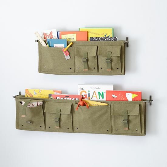 Surplus Wall Shelves (Green) | The Land of Nod