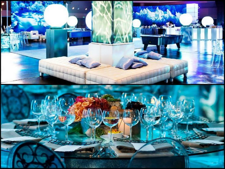 lounge area event holiday party themes party themes table centerpieces. Black Bedroom Furniture Sets. Home Design Ideas
