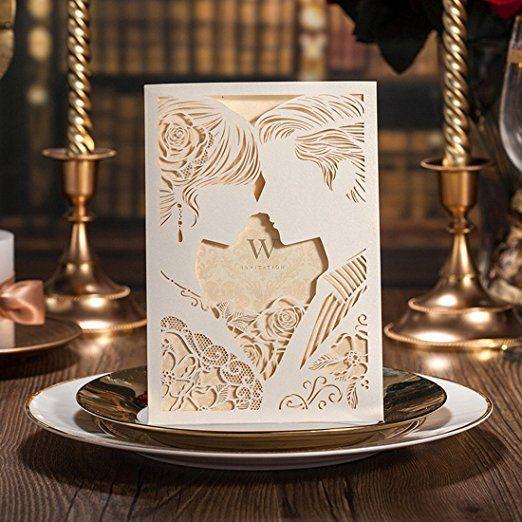 14 best Wedding Invitations images on Pinterest Elegant wedding - best of wedding invitation maker laguna