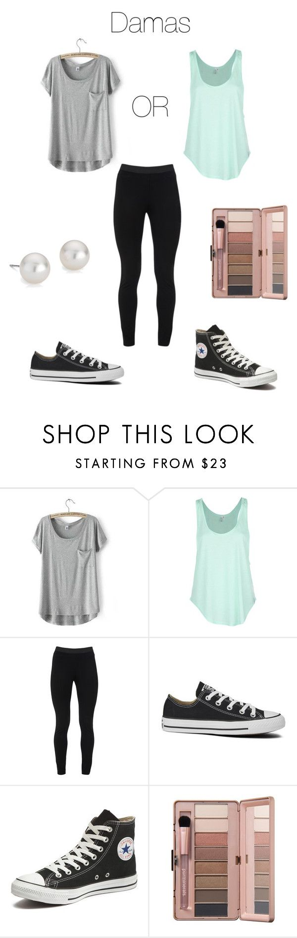 """Damas Surprise Dance Outfit"" by adriana-0611 on Polyvore featuring Rip Curl, Peace of Cloth, Converse and Blue Nile"