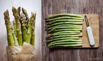 Szparagi na parze i szybki sos holenderski – z blendera | Karo in the Kitchen