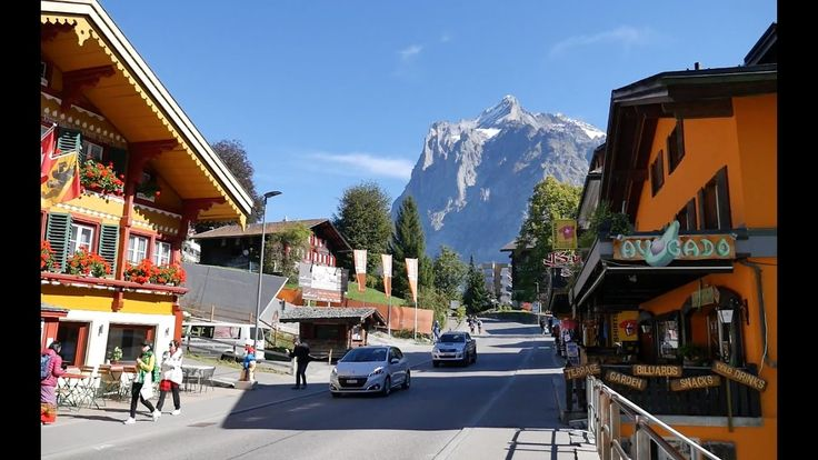 Walking. Grindelwald, Switzerland 2016 [그린델발트 걷기]