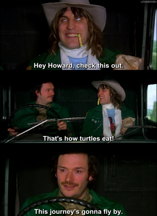 Mighty Boosh - How turtles eat - Derp