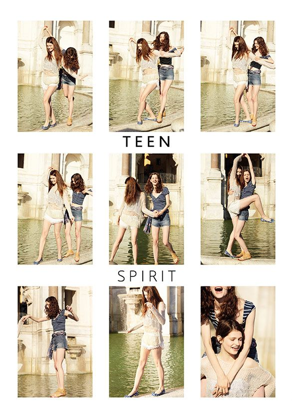 Spring 15 - Woman Collection: Blue romance. Find it out on: http://www.benetton.com/blog/2015/01/29/porta-portese/