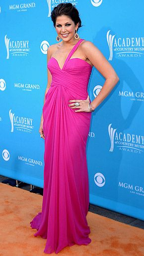 Hillary Scott (lady antebellum)- ACM Awards