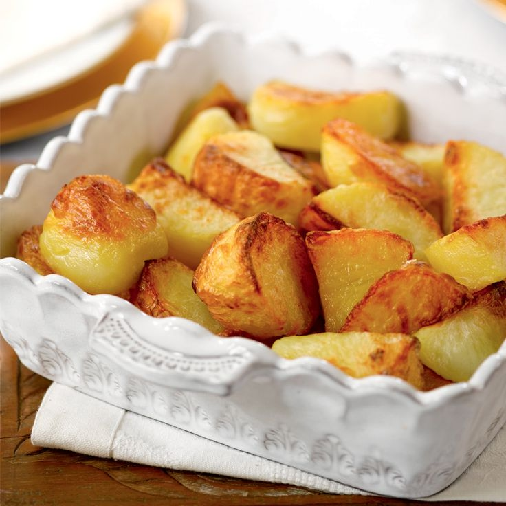It's time to get back-to-basics and master your roast potatoes. Follow our perfect roasties recipe to make sure your spuds impress. Nothing says Sunday dinner like crispy, golden potatoes! po.st/PerfectRoasties