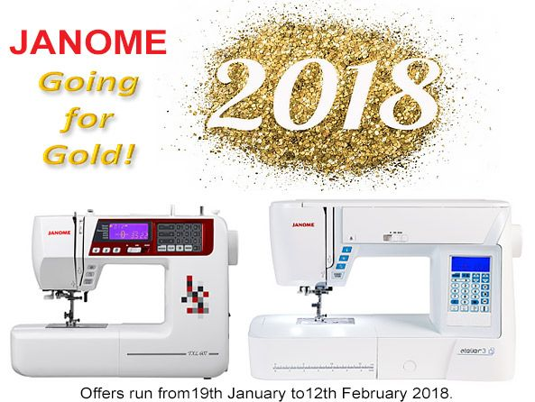 We have some amazing deals on our Janome sewing machines. The machines pictured below have a combined saving of £200 plus a free quilting kit - until stocks last. Offers run up to 12th Feb - more offers here: #mondaymotivation #sewing #Janome #sale #fashion #design #creative #quilting #patchwork