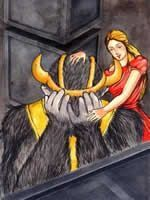 Beauty and Beast by Charles Perrault is one of the great romantic tales of all time.  With exotic music and sound effects.