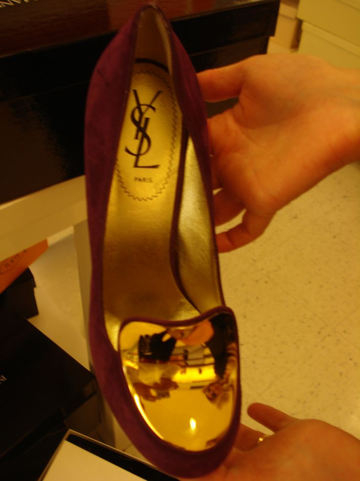 YSL shoes - no need comments!