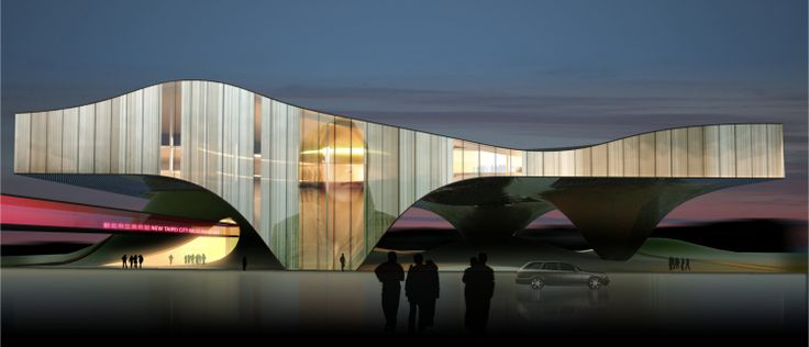 New Taipei City Museum of Art by LMK Altitude Architecture - Architecture Linked - Architect & Architectural Social Network