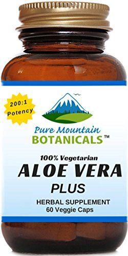 Aloe Vera Plus Capsules. 200:1 Extract. Kosher Organic Dried Aloe Vera Gel, Marshmallow Root, Slippery Elm - http://alternative-health.kindle-free-books.com/aloe-vera-plus-capsules-2001-extract-kosher-organic-dried-aloe-vera-gel-marshmallow-root-slippery-elm/