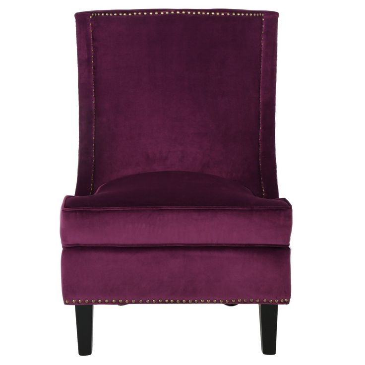 Carole Velvet Single Sofa Accent Chair   Christopher Knight Home, Pink