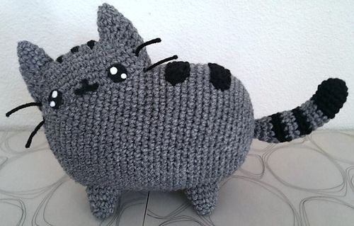 Pusheen Knitting Pattern : Pusheen Plush pattern by Thu Nguyen Posts, Plush and ...