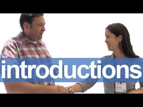 How to Introduce Yourself -- American English Pronunciation   Rachel's English