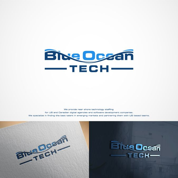 Blue Ocean Tech needs a logo that shows the powerful combination of great tech and great purpose by Winslow™