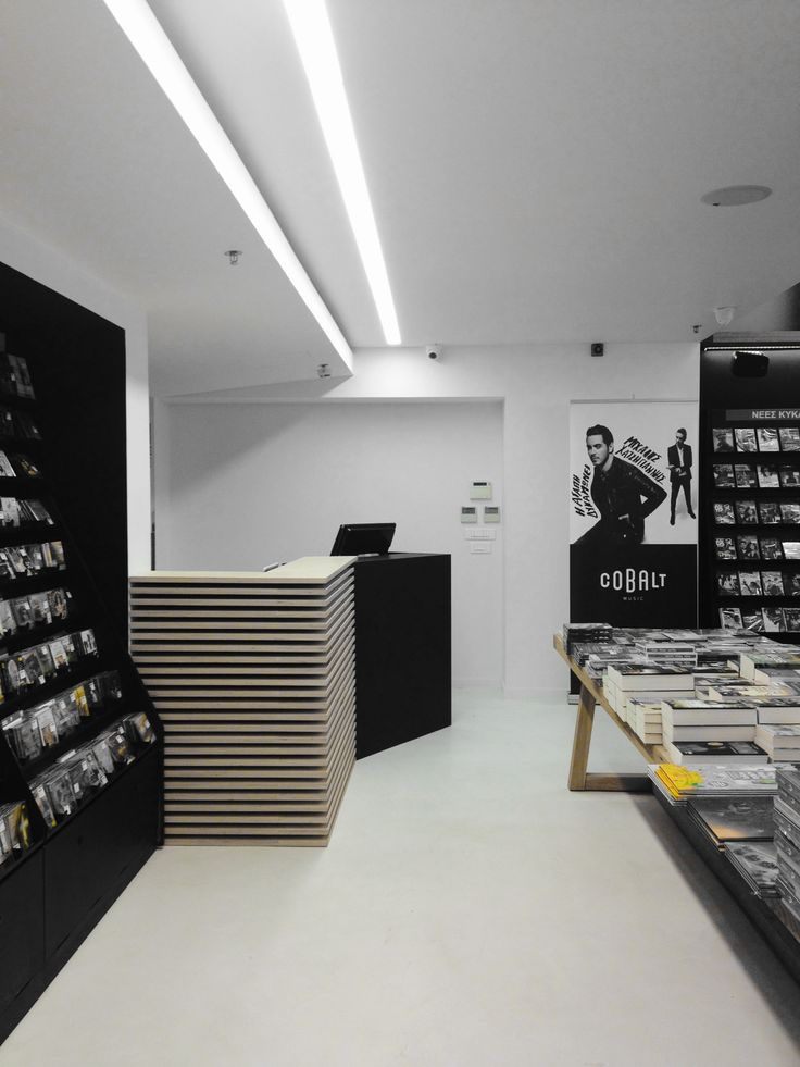Reload music store @ the mall | eDje architects | athens, Greece | cashier