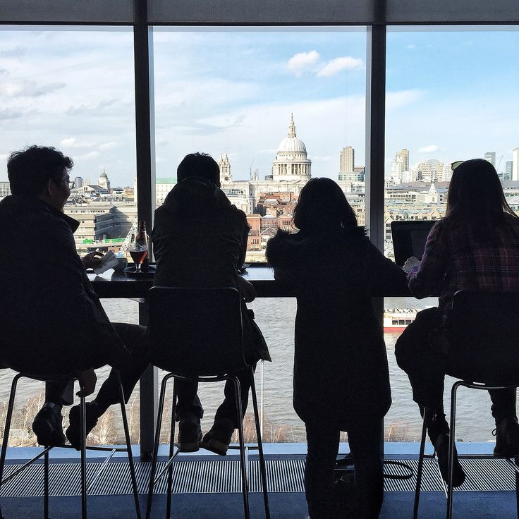 Watch the city go by from the Tate Modern restaurant