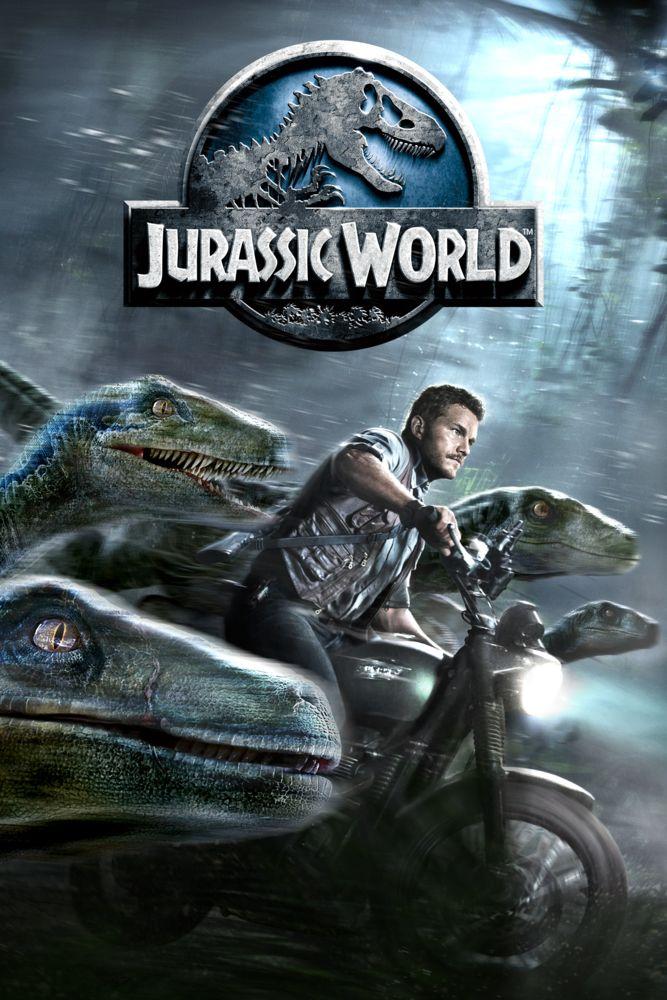 Jurassic World Movie Poster - Chris Pratt, Bryce Dallas Howard, Vincent D'Onofrio  #JurassicWorld, #MoviePoster, #ActionAdventure, #ColinTrevorrow, #BryceDallasHoward, #ChrisPratt, #VincentDOnofrio