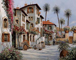 Painting - Ombre Al Pomeriggio by Guido Borelli