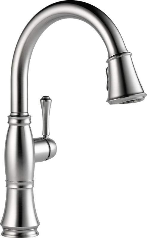 Delta 9197 Dst Kitchen Faucet Delta Cassidy Touch Kitchen Faucet