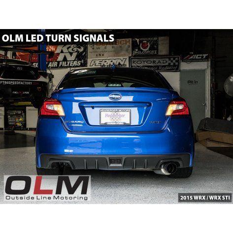 LED Rear Turn Signal Bulbs - 2015+ WRX / 2015+ STI / 2013+ BRZ