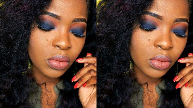 Maquiagem Olho Preto Esfumado - Black Eyes Makeup Tutorial
